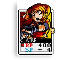 Claire Redfield - Resident Evil Canvas Print