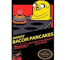 Super Makin' Bacon Pancakes Photographic Print