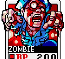 Zombie by Lupianwolf