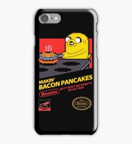 Super Makin' Bacon Pancakes iPhone Case/Skin