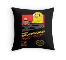 Super Makin' Bacon Pancakes Throw Pillow