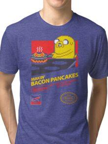 Super Makin' Bacon Pancakes Tri-blend T-Shirt