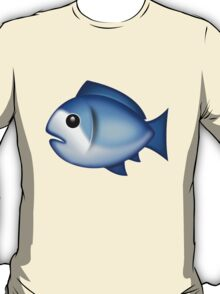 Blue Fish Emoji T-Shirt