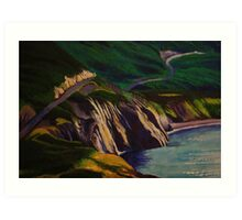 Magic from the Cabot Trail Art Print