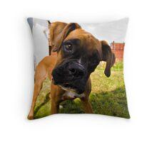 Big Head II Throw Pillow