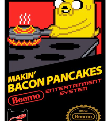 Super Makin' Bacon Pancakes Sticker Version Sticker