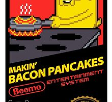 Super Makin' Bacon Pancakes Sticker Version by RyanAstle