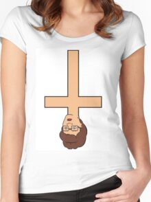 Peggy Hill Cross Women's Fitted Scoop T-Shirt