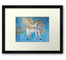 Small Unicorn Framed Print