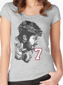 Brent Seabrook Women's Fitted Scoop T-Shirt