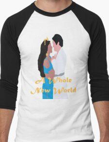 A Whole New World Men's Baseball ¾ T-Shirt
