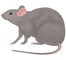 Rat Emoji by Vintagee