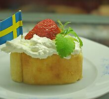 Swedish National Day pastry - 6th of June by Paola Svensson