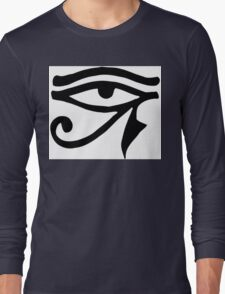 Egyptian Eye of Horus Long Sleeve T-Shirt