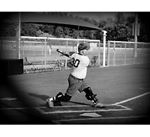 Batter up Photographic Print
