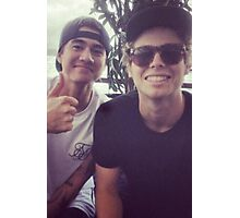 Calum and luke Photographic Print