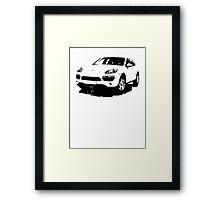 Porsche Cayenne 2011 Framed Print
