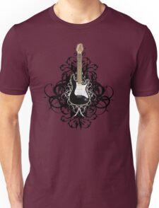 Sexy Black Guitar Unisex T-Shirt