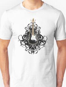 Sexy Black Guitar T-Shirt