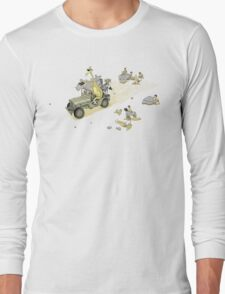 Animals On Safari Long Sleeve T-Shirt