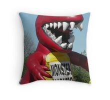 monster madness... Throw Pillow