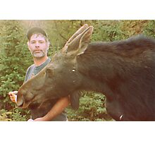 Lucy the moose Photographic Print