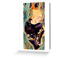 Tarot Card- My Inquisitor Greeting Card