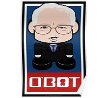Bernie Sanders Politico'bot Toy Robot 2.0 Poster
