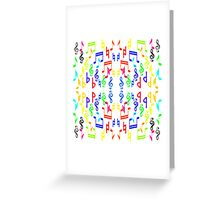 Notes Greeting Card