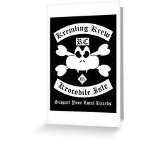 Krunch's Club Greeting Card