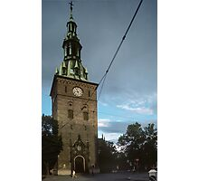 Domkirke Oslo Norway 198406140018  Photographic Print