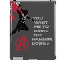 Thor in The Avengers iPad Case/Skin