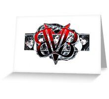 Black Veil Brides Unitiy (White ver) Greeting Card