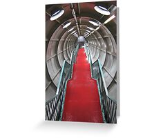 Onward and upward Greeting Card