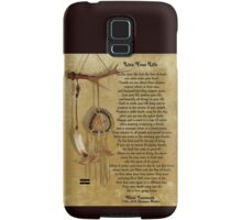 """""""Live Your Life""""  by Chief Tecumseh dream catcher Samsung Galaxy Case/Skin"""