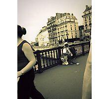 Parisian streets Photographic Print