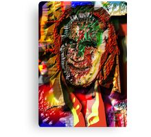 TROUBLED MAN Canvas Print