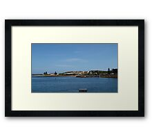 Coastal Town of Beachport! Taken from the Jetty. Limestone Coast. Framed Print