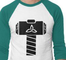 Whosoever Holds This Hammer... Men's Baseball ¾ T-Shirt