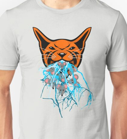 Cat Barf Mouse Heads Unisex T-Shirt