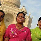 Taj Mahal Rainbow by Tash  Menon