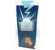 Marvel: Thor (Minimalist) Poster