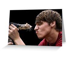 Ferret Love Greeting Card