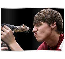 Ferret Love Poster