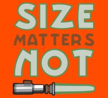 Size Matters Not Kids Tee