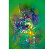 Foliage - colorful digital abstract art by Gordan P. Junior Photographic Print