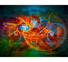 First Flight - colorful digital abstract art by Gordan P. Junior Photographic Print