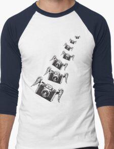 Flying Plastic - HOLGA Men's Baseball ¾ T-Shirt
