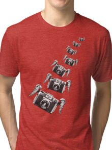 Flying Plastic - HOLGA Tri-blend T-Shirt