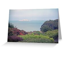 Alcatraz - San Francisco, California, USA Greeting Card